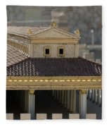 The Temple Of Solomon 1 Fleece Blanket