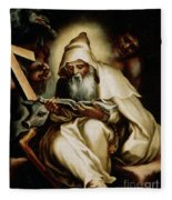 The Temptation Of Saint Anthony Fleece Blanket