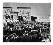 The Ten Commandments, 1923 Fleece Blanket