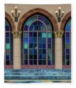 The Terrace At The Ringling Estate - Sarasota, Florida Fleece Blanket