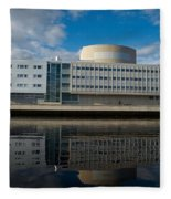 The Theatre Of Oulu 1 Fleece Blanket