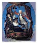 The Three Favorite Air Travelers Fleece Blanket