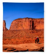 The Three Sisters Fleece Blanket