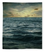The Time I Was Daydreaming Fleece Blanket