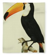 The Toco Toco Toucan  Ramphastos Toco Fleece Blanket