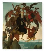 The Torment Of Saint Anthony Fleece Blanket
