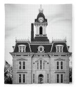 The Town Hall Fleece Blanket