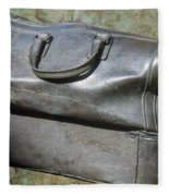 The Travellers Travel Bag Fleece Blanket