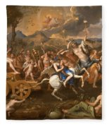 The Triumph Of Bacchus Fleece Blanket