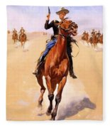 The Trooper 1892 Fleece Blanket