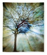 The Truth Of Trees Fleece Blanket