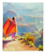 The Truth Will Set You Free Fleece Blanket