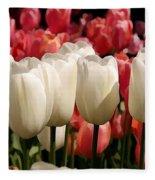 The Tulip Bloom Fleece Blanket