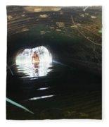 The Tunnel 2 Fleece Blanket