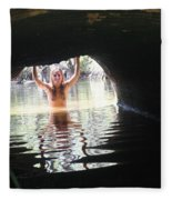 The Tunnel 6 Fleece Blanket