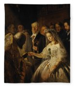 The Unequal Marriage Fleece Blanket