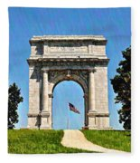 The Valley Forge Arch Fleece Blanket