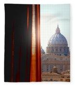 The Vatican Fleece Blanket
