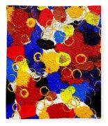 The Veritable Aspects Of Uli Arts #330 Fleece Blanket