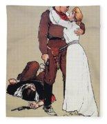 The Victors Prize, 1905 Fleece Blanket