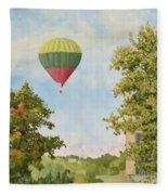 The View From The Window Fleece Blanket