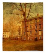 The Village - Allaire State Park Fleece Blanket