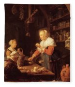 The Village Grocer 1647 Fleece Blanket