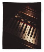 The Vintage Music Hall Fleece Blanket