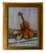 The Violin  Fleece Blanket