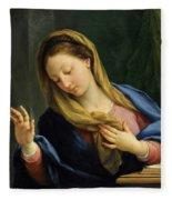 The Virgin Annunciate Fleece Blanket