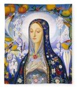 The Virgin,  Joseph Stella Fleece Blanket