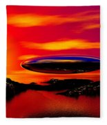 The Visitor Fleece Blanket