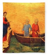 The Vocation Of The Apostle Peter Fragment 1311 Fleece Blanket