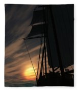 The Voyage Home  Fleece Blanket