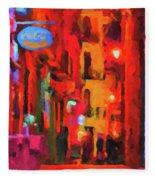 The Walkabouts - Spanish Red Moon Stroll Fleece Blanket