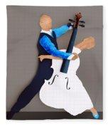 The Waltz Fleece Blanket