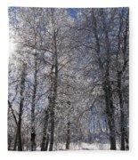The Warmth Of The Sun Fleece Blanket