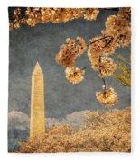 The Washington Monument Fleece Blanket