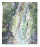 The Water Falls Fleece Blanket