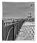 The Waterfront Fleece Blanket
