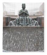 The Waterman Fountain Fleece Blanket