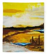 The Way Home Fleece Blanket