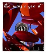 The Way I See It Coffee Table Book Cover Fleece Blanket
