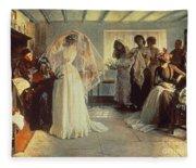 The Wedding Morning Fleece Blanket