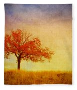 The Wednesday Tree Fleece Blanket