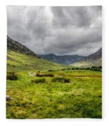 The Welsh Valley Fleece Blanket