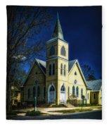 The Wenonah United Methodist Church Fleece Blanket