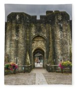 The West Gatehouse 1 Fleece Blanket