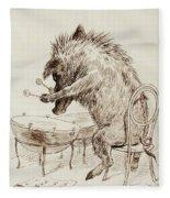 The Wild Boar Fleece Blanket