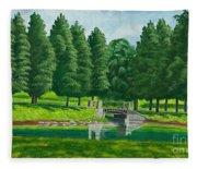 The Willow Path Fleece Blanket